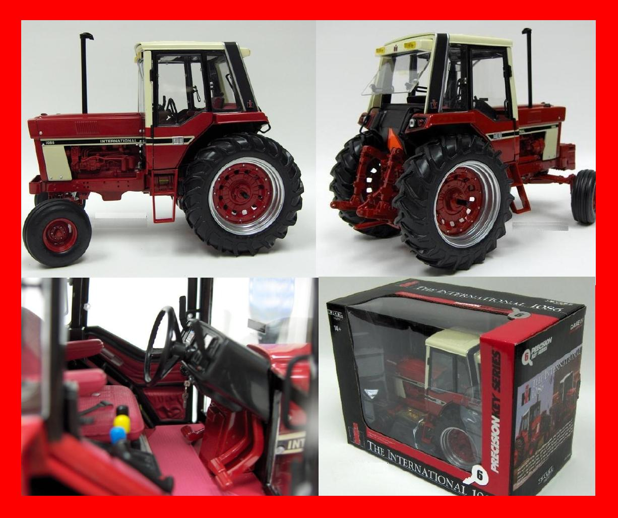 1086 Ih Plowing : Red wagon antiques and farm toys